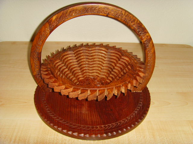 Picture 3 of 12   Sun shape basket